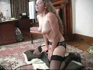 Violet's Violent Sybian Orgasms