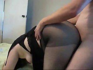Fatty nympho Ramona banged from behind