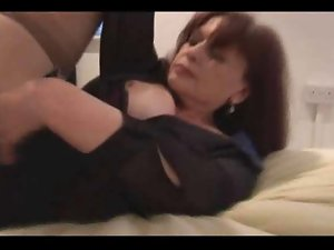 attractive mature plays around