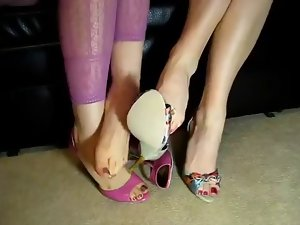 Footsie, foot play, foot fetish