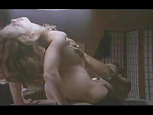 Vintage orgasmic lady has multiple asshole orgasms