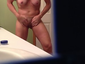 better half out of shower