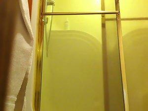 Sandy's Shower Voyeur Video