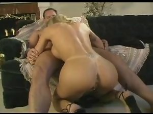 Classic Bigtitted Blondie Cougar Screwing