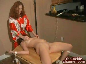 INtense Redhead Tickling Orgasms