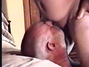daddy suck married bear