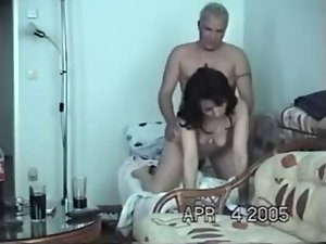 Sex with a harlot at home
