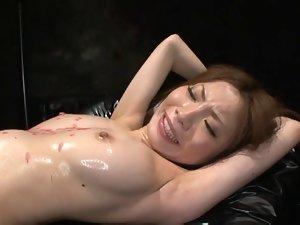 Oiled Tied & to Cum IZUMI 2 (Censored)