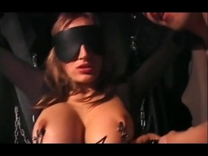 German wench gets screwed in a bodystocking