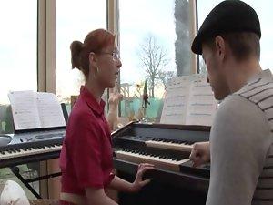 Bum Piano Lesson