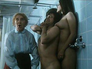 Weeny lad and virgin schoolgirls