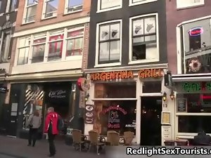 American lad comes to Amsterdam to fuck