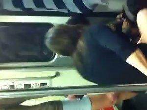 Bum on Subway