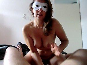 Alysha - prostate milking - BJ and cum eating - cum swallow