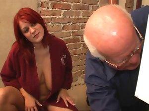 19yo female with older man