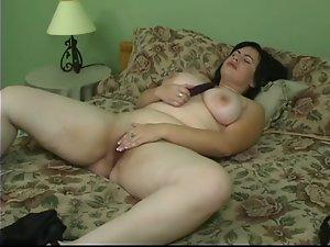 Lewd Curvy Heavy Jade Masturbating!!! HD