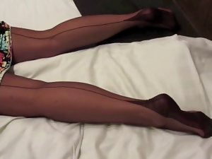 Attractive for Nylons Geil in Nylons