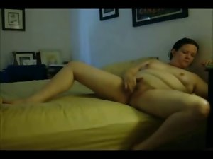 Sensual Obese Obese Ex Girlfriend morning Masturbation on cam