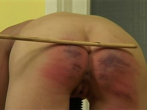 Brutal Caned Young lady 10