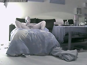 Better half home Alone on hidden Ip Cam part 2