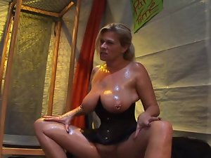 Pierced german luscious attractive mature