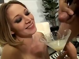She Loves swallow a great deal cum - 2