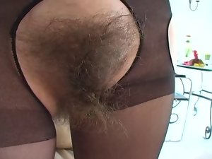 fabulous very hairy lass