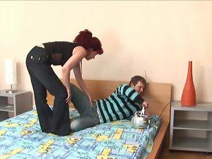 sensual russian experienced janna dirty