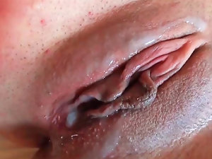 Courtney Shea licking wiener and getting nailed in her succulent pussy