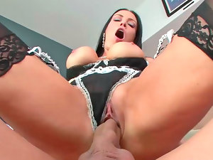 Vanilla DeVille performing oral and getting nicely screwed