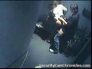 Filthy free security camera sex video