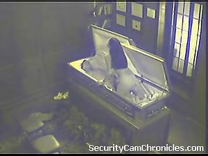 Sex Caught On Security Camera Screwing