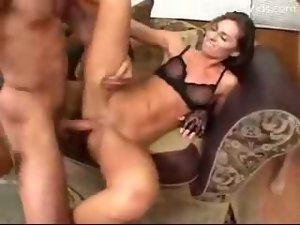 Giant Phalluses Penetrate Her Not So Innocent Womb