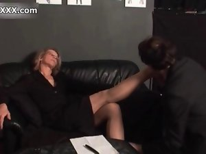 Filthy older vixen gets raunchy film