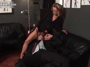 Filthy blondie whore goes wild video 2