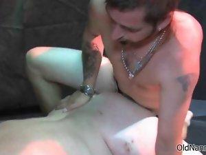 Obscene attractive mature nympho gets her cunt rammed segment