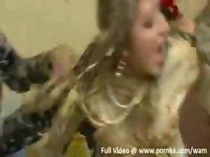 Cheerleader chastised! sex