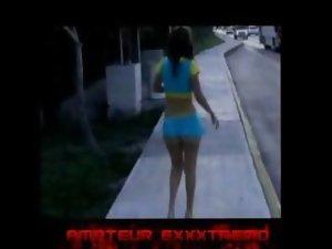 Michelle Exxxtrema con nalgas de 14 kilates