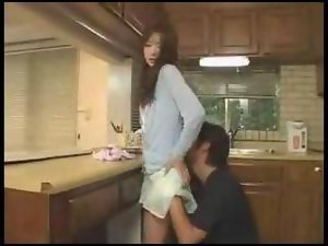 Seductive japanese Dirty wife Screws Her Husbby Friend