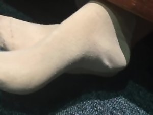 (Loveflats1) Candid Chinese Socks Rubbing