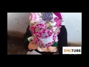 Hijab girl cumshot