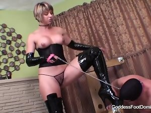 Goddess Foot Boots Domination