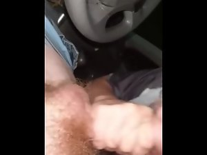 Nasty slut throats dick and swallows big load while bf id at home pt2