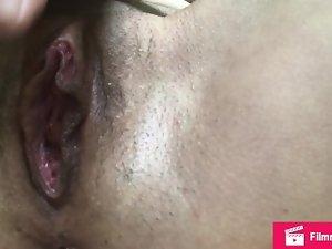 Rubbing my dripping pussy until I orgasm