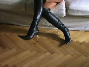 Nicola Thigh Boots