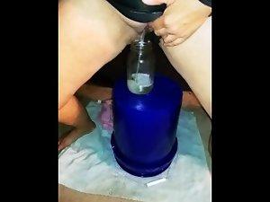 Pee jar desperation