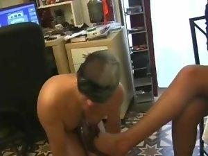 Preparing slave meal