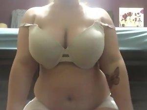 Milking facesitting and masturbating POV