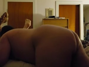 Fucking Wife's Ass with Dildo & Eating her Pussy til she Cums