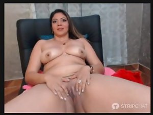 BBW _ red latina heat Naked MILF 1